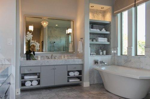 Medium Of Gray Bathroom Vanity