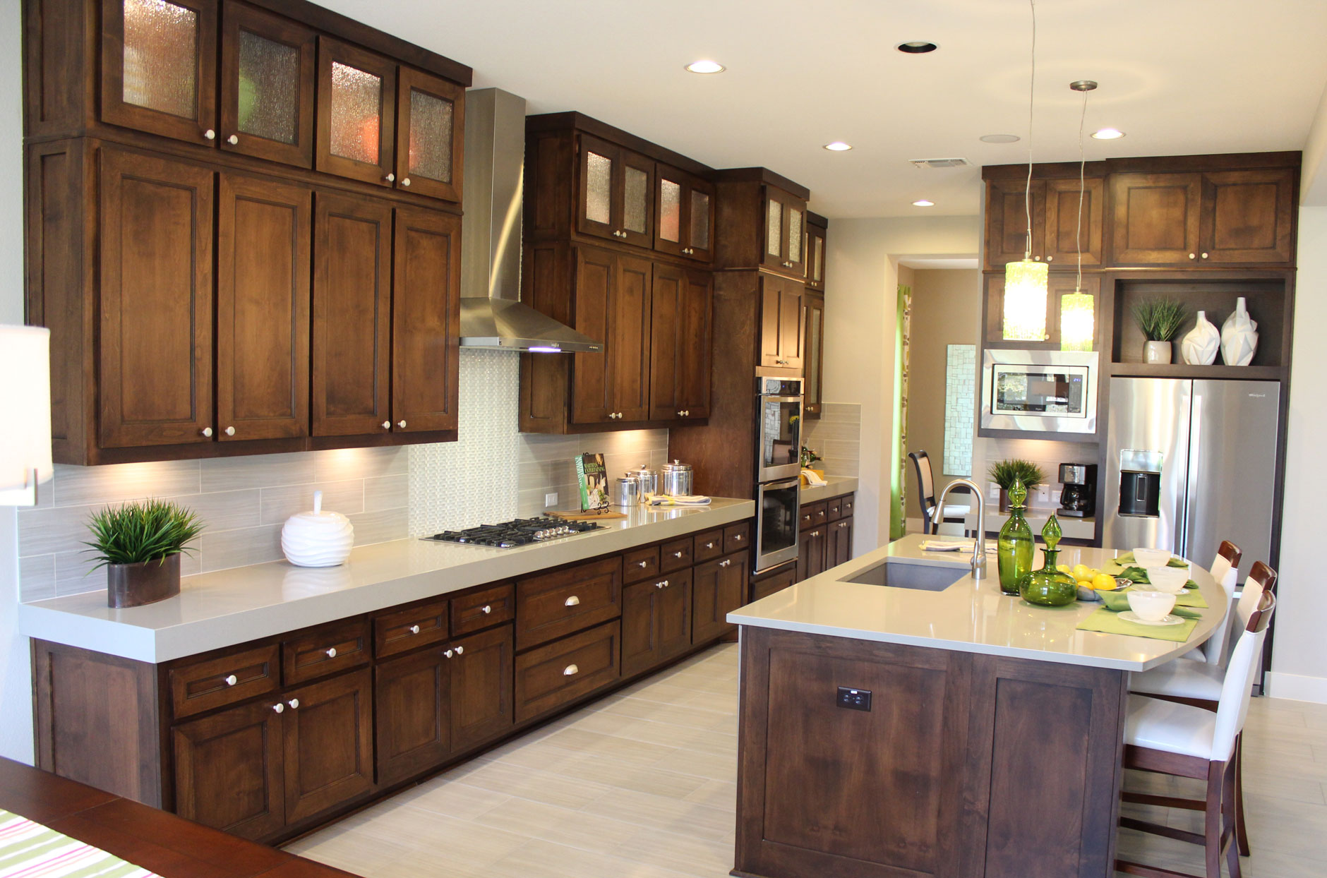 Contemporary Crown Molding For Kitchen Cabinets Molding Burrows Cabinets Central Texas Builder Direct