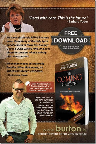SpiritLed Woman - The Coming Church Ad Web