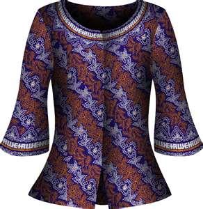 Kerja Batik Wanita Modern