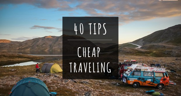 40 tips cheap traveling bus van