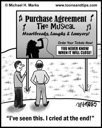 Business Brokerage Press Brokerman Cartoons Purchase Agreement