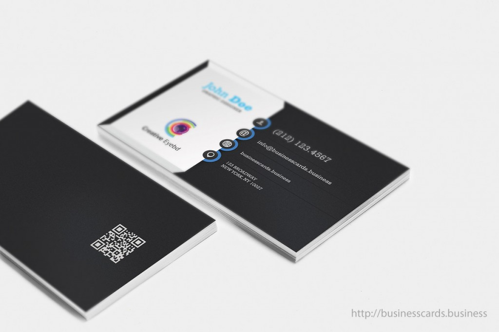 Vertical Business Card Templates  Business Cards Templates