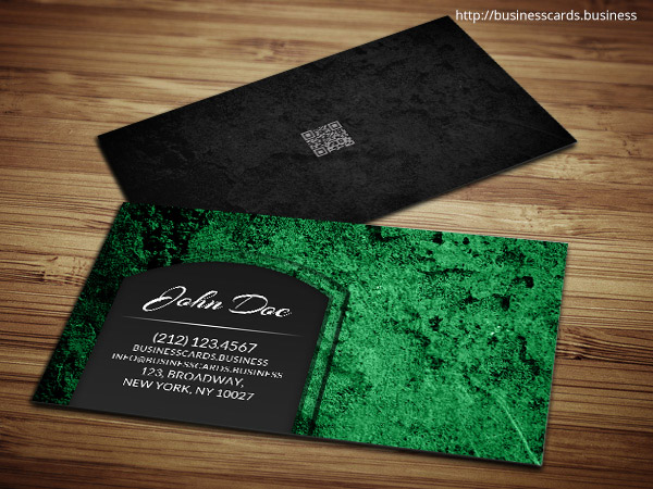 Green Business Card Templates  Business Cards Templates