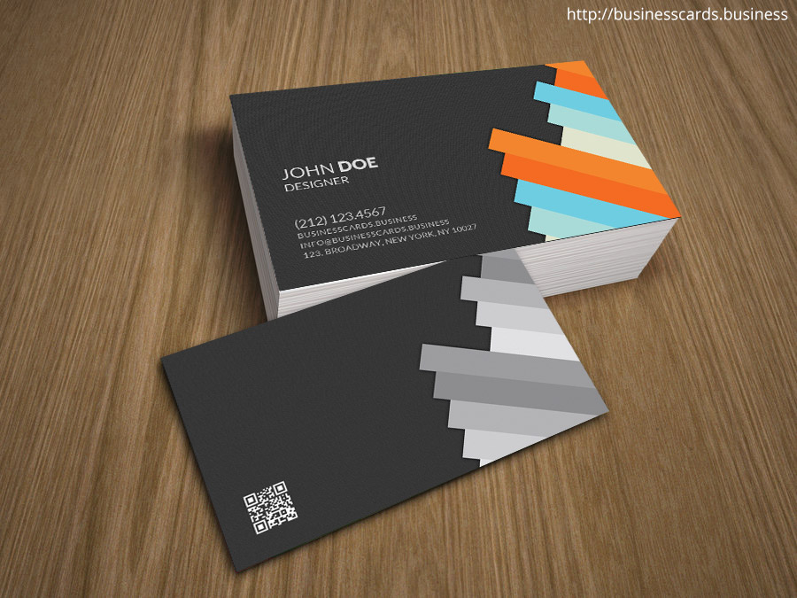 Free Professional 3D Business Card Template for Photoshop  Business - free cards templates