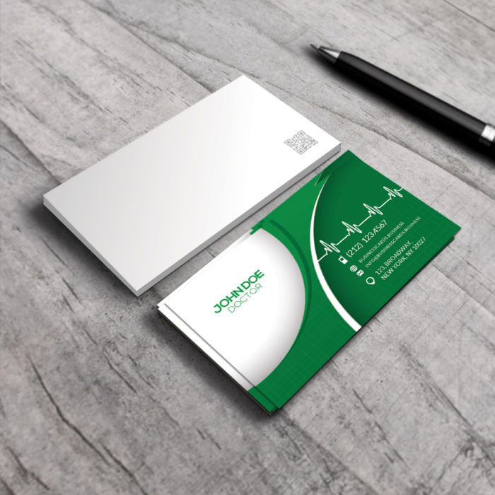 Free Medical Business Card PSD Template  Business Cards Templates - medical business card templates