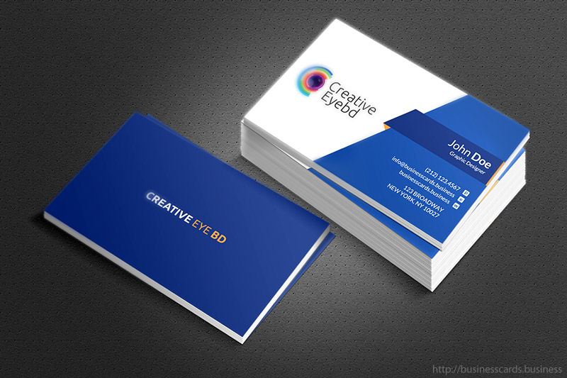 Free Eye BD Business Card Template  Business Cards Templates - Buisness Card Template