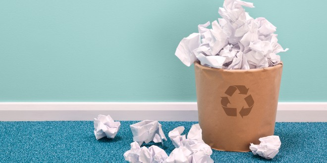 Reduce Office Paper Waste Now To Make Business Go Green
