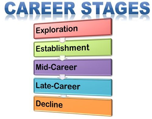 What are Career Stages? definition and meaning - Business Jargons - life career