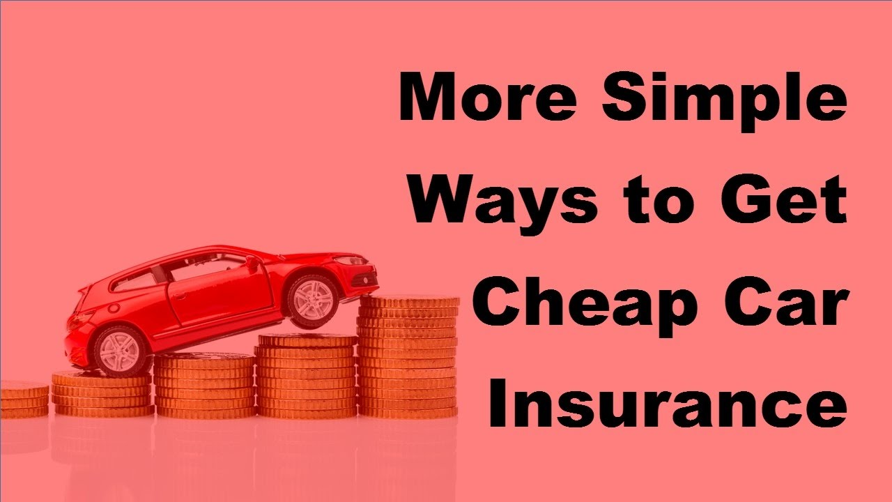 Get Cheap Insurance Some Tips To Get Cheap Motor Insurance