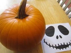 Small Of Jack Skellington Pumpkin Carving