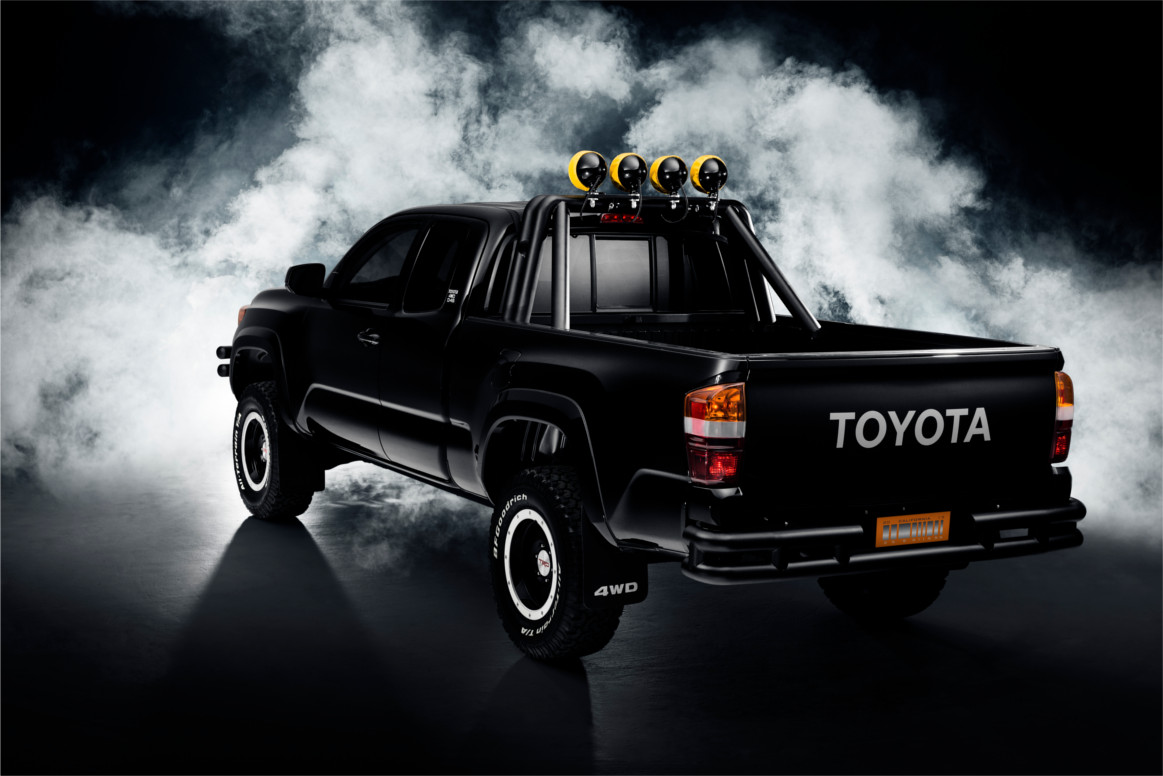 All Toyota Vehicles >> Back to the Future 2016 Toyota Tacoma | Busted Wallet
