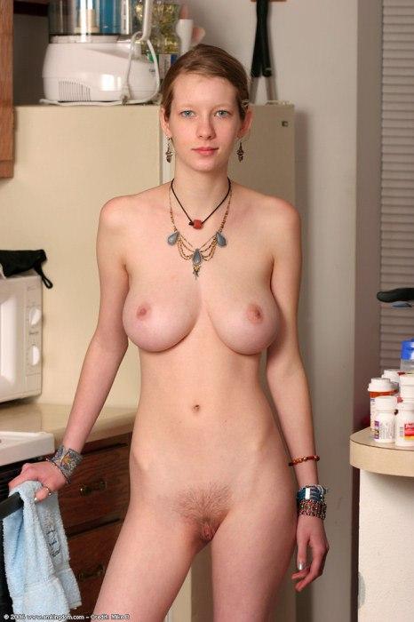 huge boobies on skinny girl
