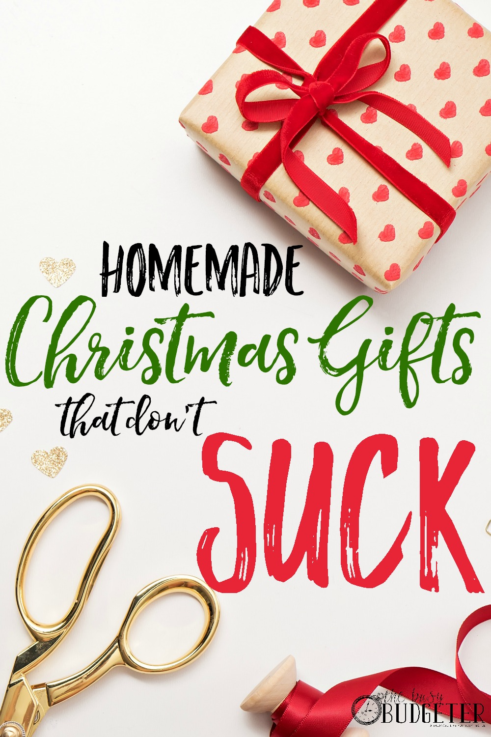 Christmas Homemade Gifts Cheap Diy Christmas Gifts That Don T Suck The Busy Budgeter