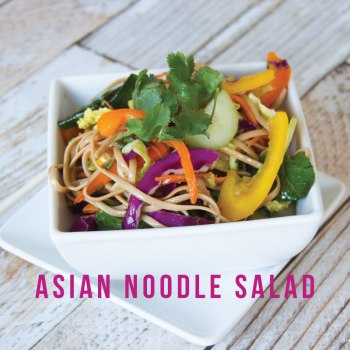 Asian Noodle Salad on BusyMommyMedia.com