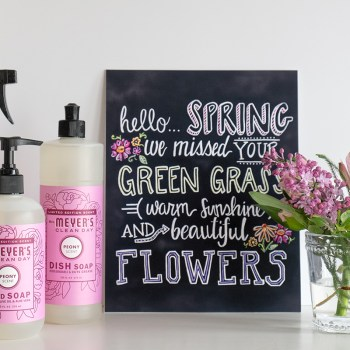 Mrs. Meyers Spring Freebies!