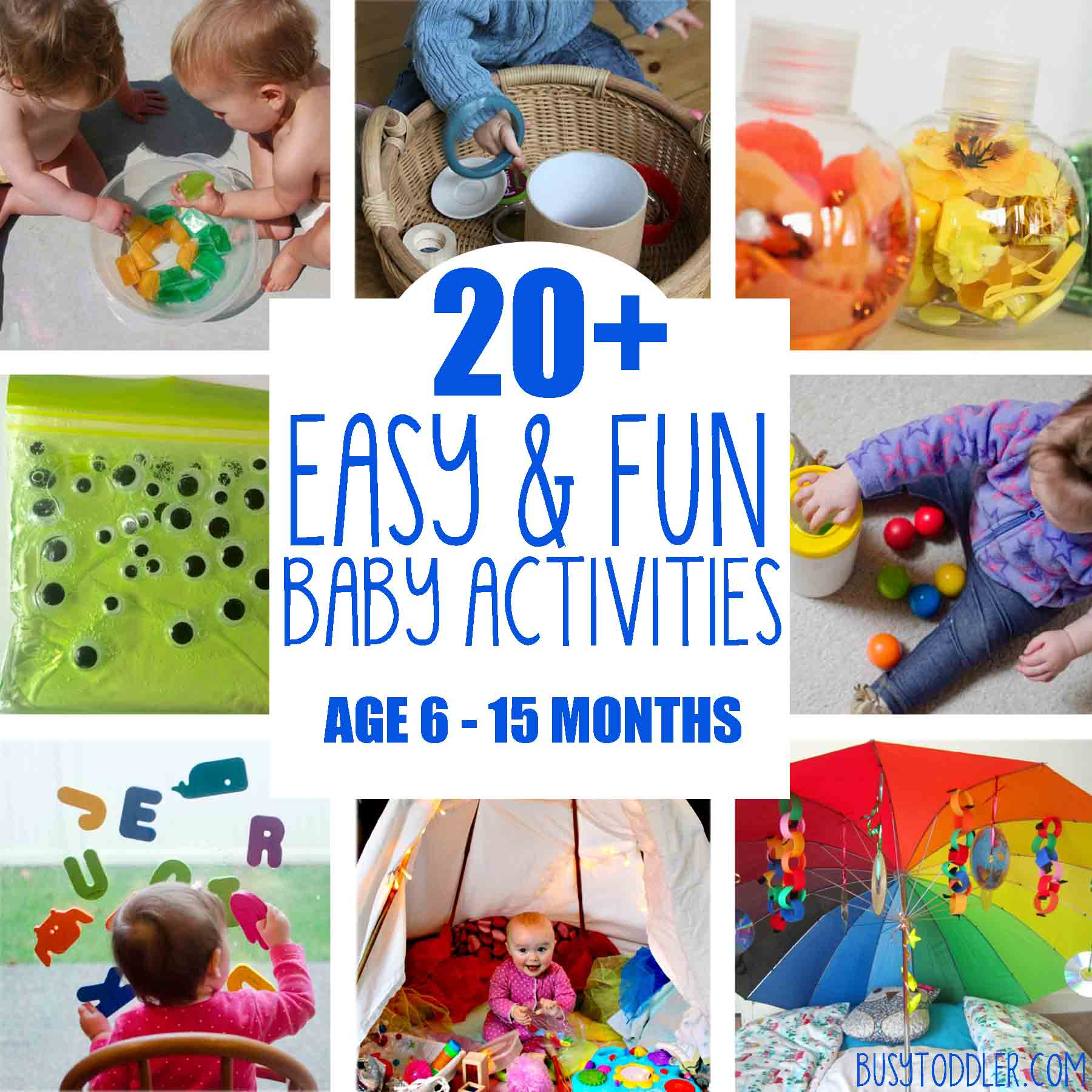Infant Learning Chair 20 Fun Easy Baby Activities Busy Toddler