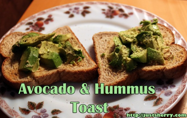 Avocado and Hummus Toast