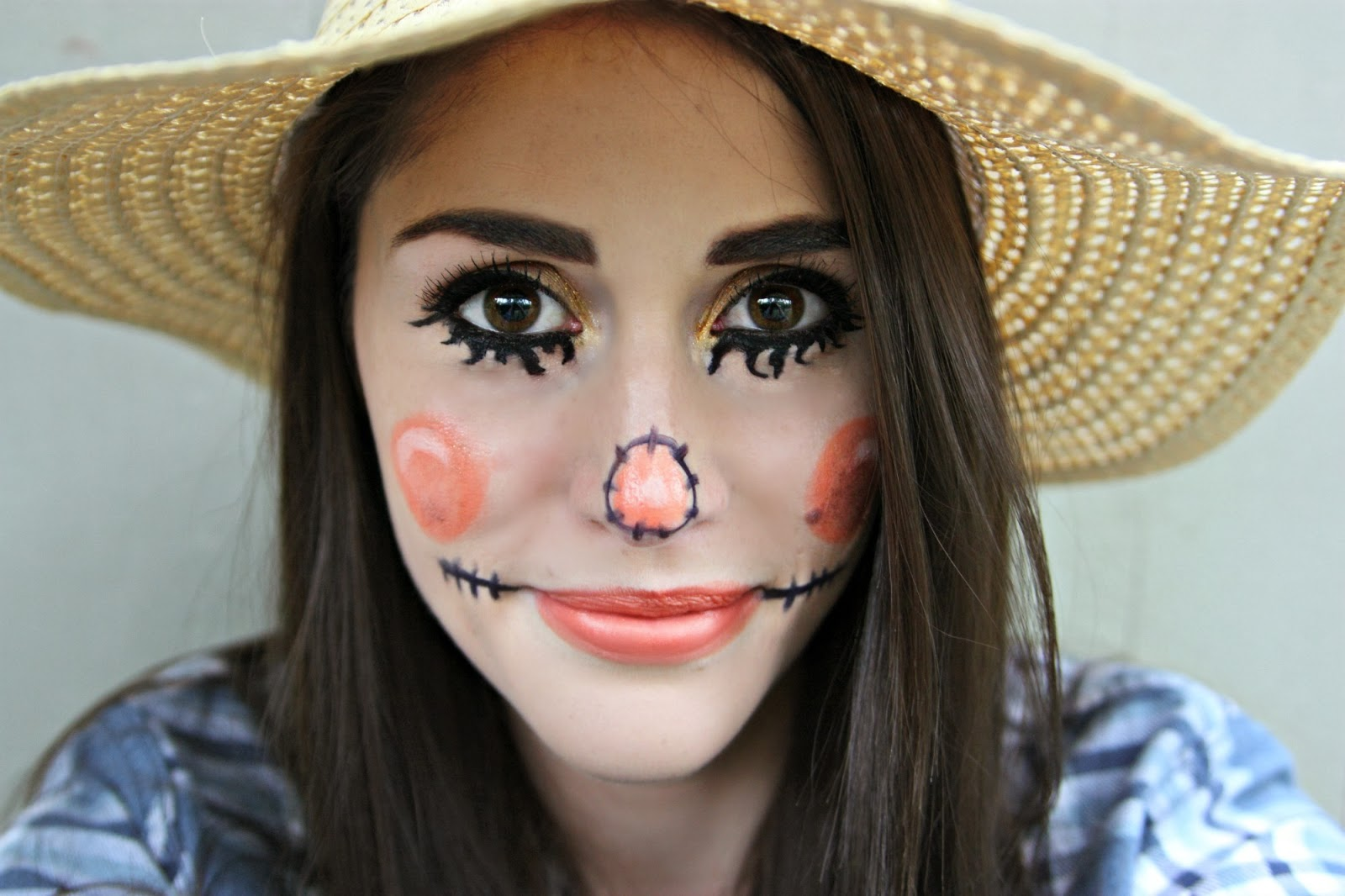Halloween Make Up Anleitung Scarecrow Makeup Tutorial And Other Thoughts About Halloween