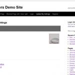 Member Links Demo