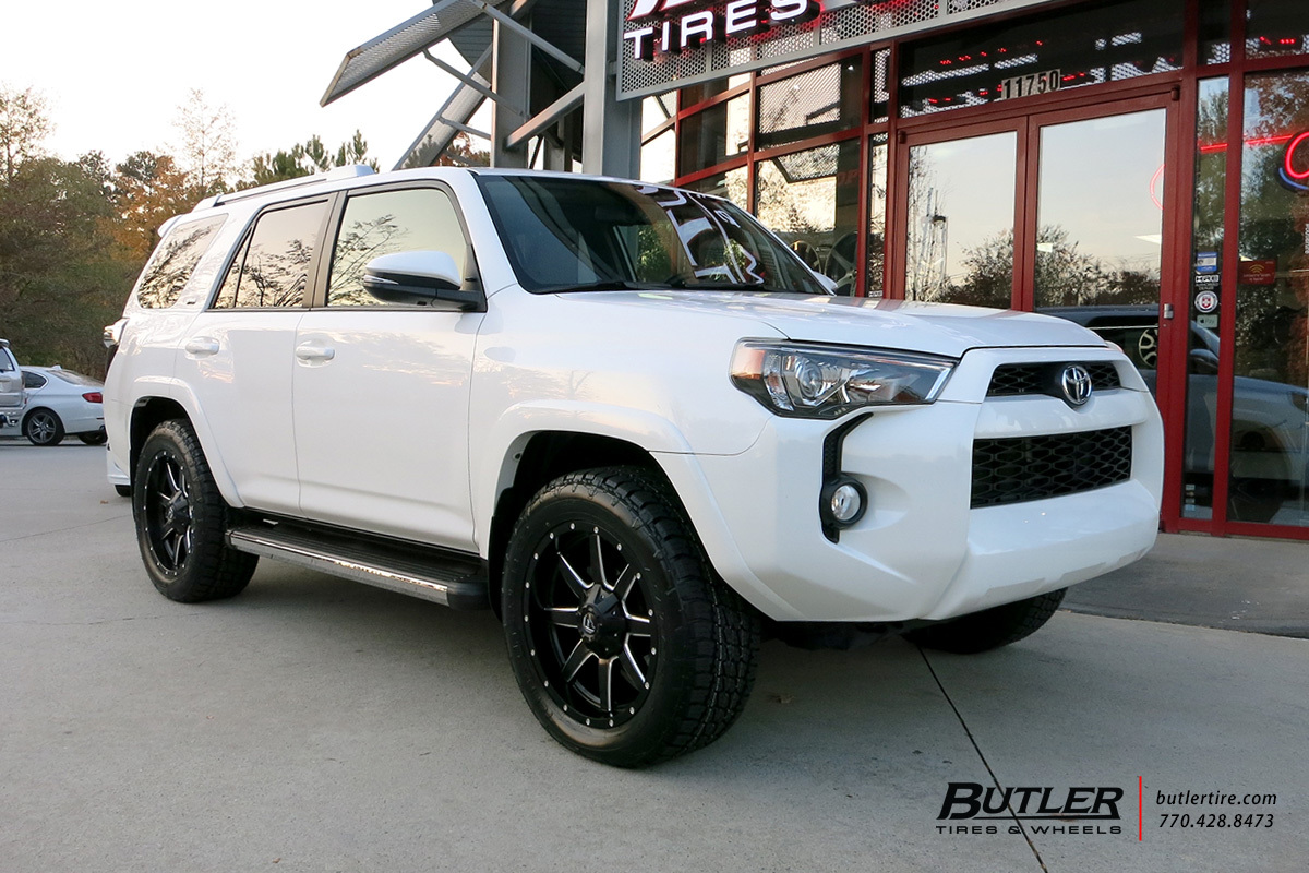 Big W Runners Toyota 4runner With 20in Fuel Maverick Wheels Exclusively