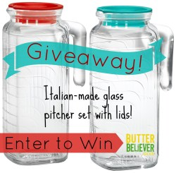 Cheerful Lids From Butter Glass Pitcher Set Butter Believer Small Glass Pitcher Lid Canada Lid Glass Pitcher Glass Pitchers Enter To Win A Set