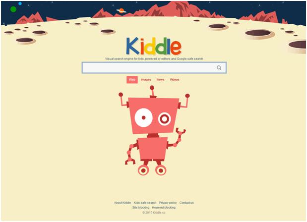 kiddle screen shot