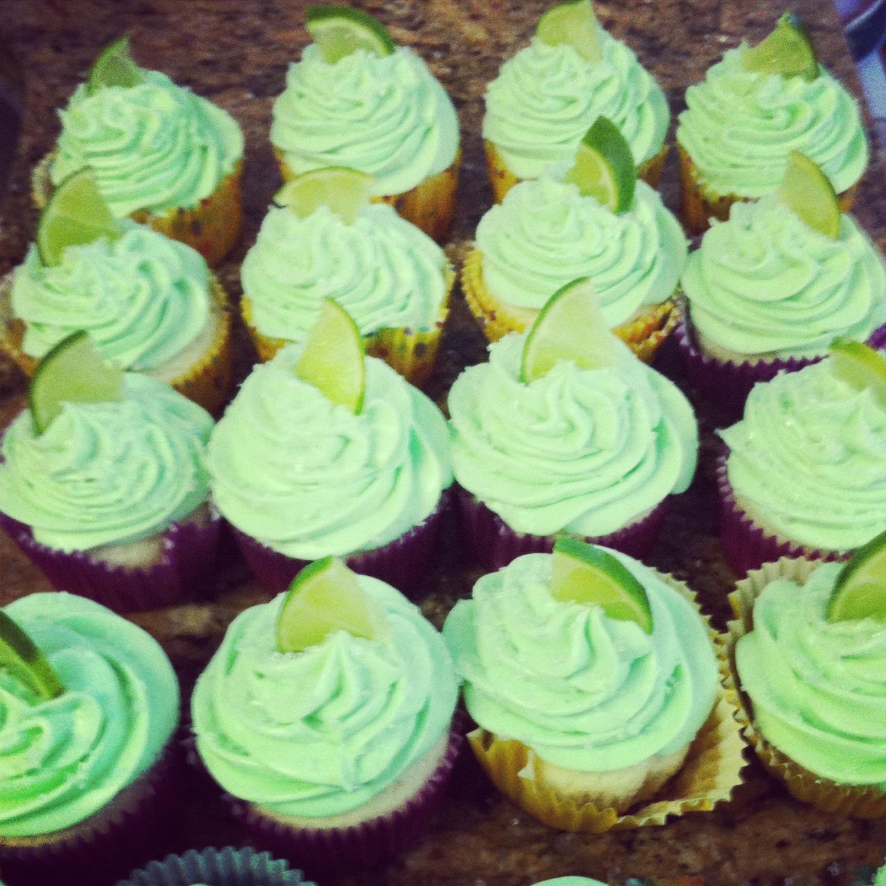 Tequila Shot Cupcakes | ButterLustBlog.com