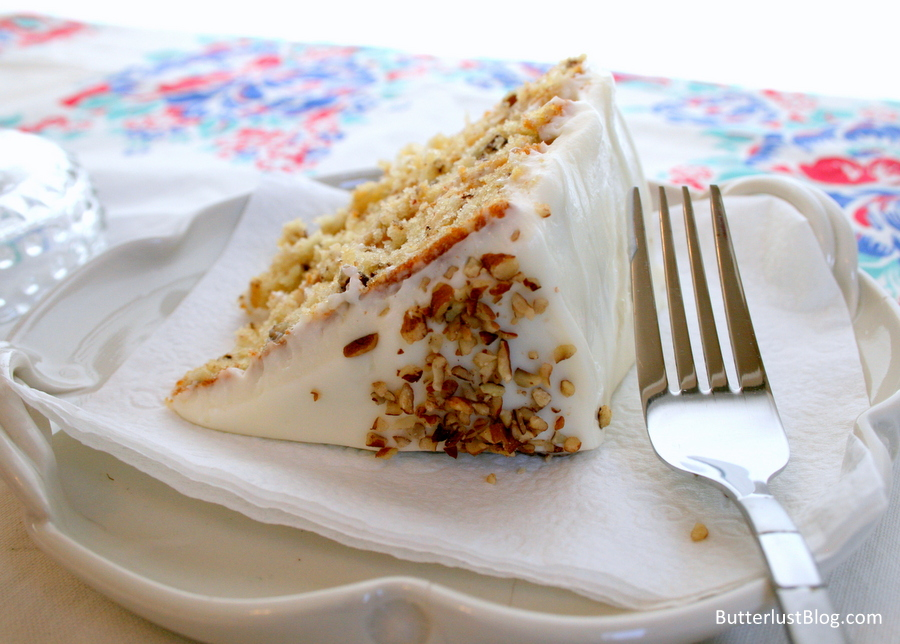 Italian Cream Cake | Butterlust Blog