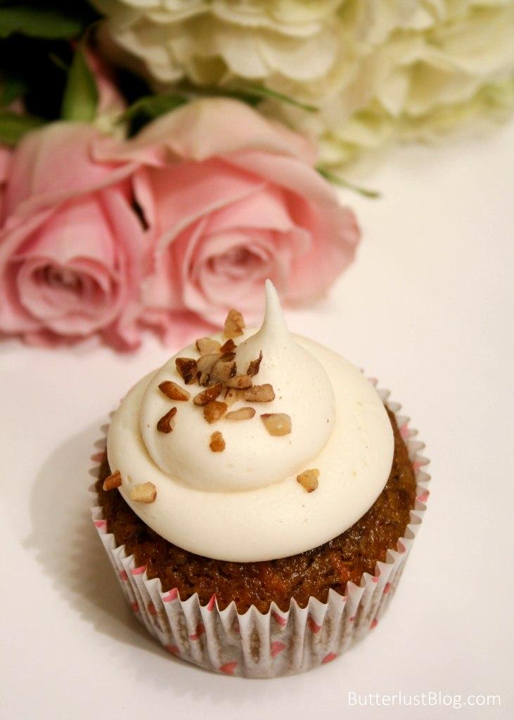 Skinny Carrot Cake Cupcakes