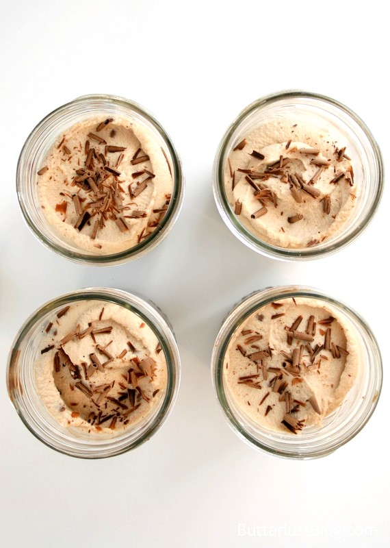 Brownie, Pudding & Milky Way Mousse Trifle {In a Mason Jar} // butterlustblog.com