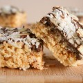 Almond Joy Rice Krispie Treats | ButterlustBlog.com