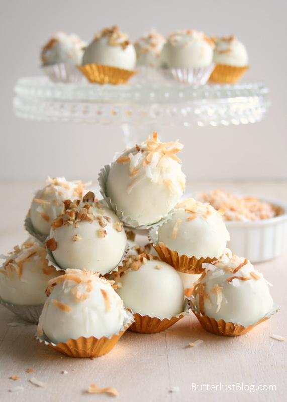 Italian Cream Cake Balls Butterlust