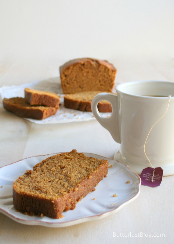 Chai Spiced Pumpkin Bread | Butterlust Blog