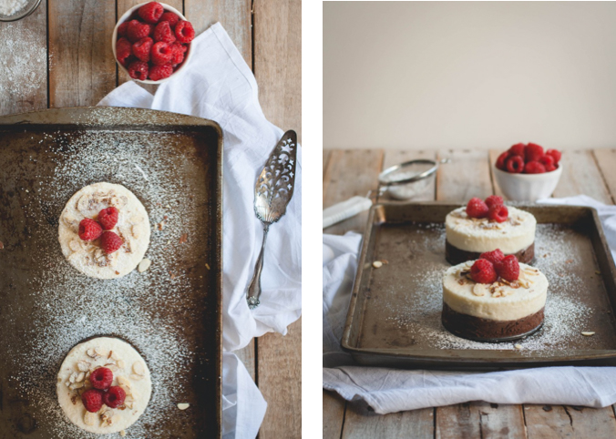 No-Bake Almond & Raspberry Double Chocolate Cake // butterlustblog.com