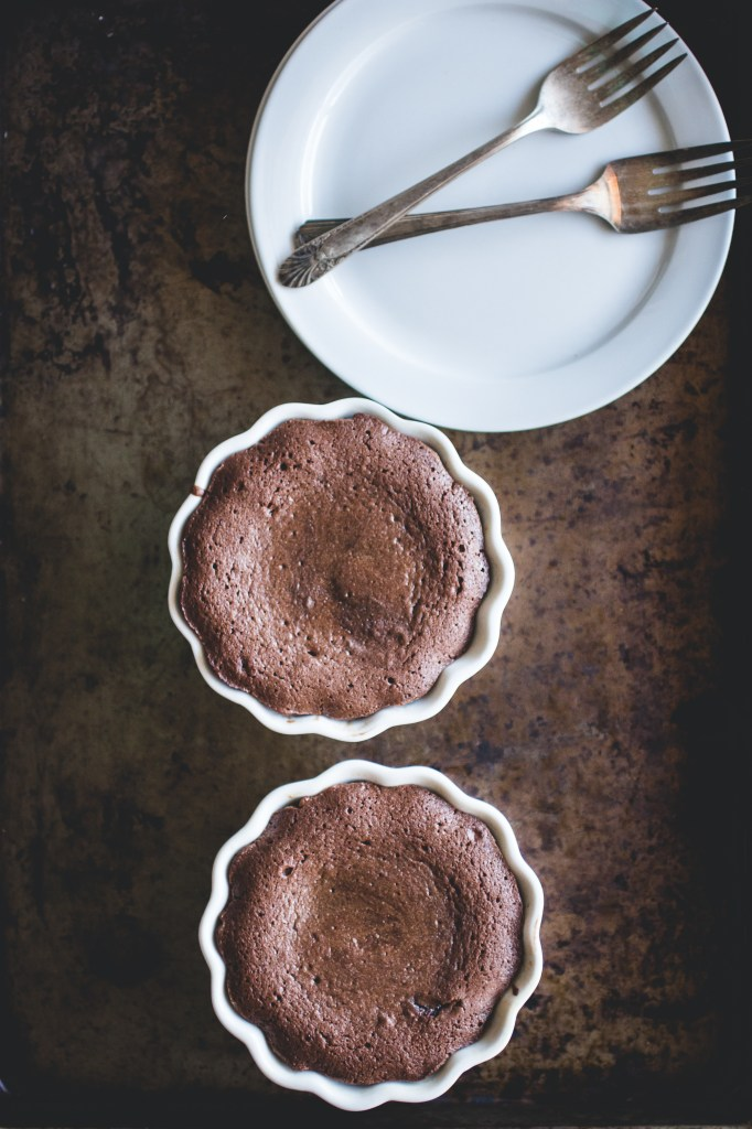 Nutella Molten Cakes + No-Churn Cherry Cheesecake Ice Cream