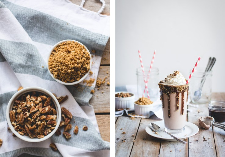 Kentucky Derby Pie Milkshake // butterlustblog.com