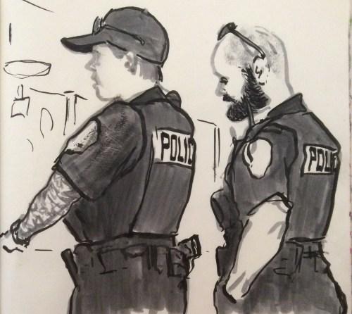 2 cops at Coralie