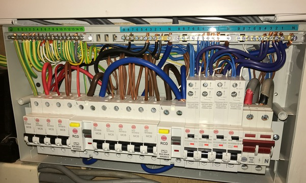 IET Forums - Adding 100ma TD RCD to High Integrity Consumer Unit