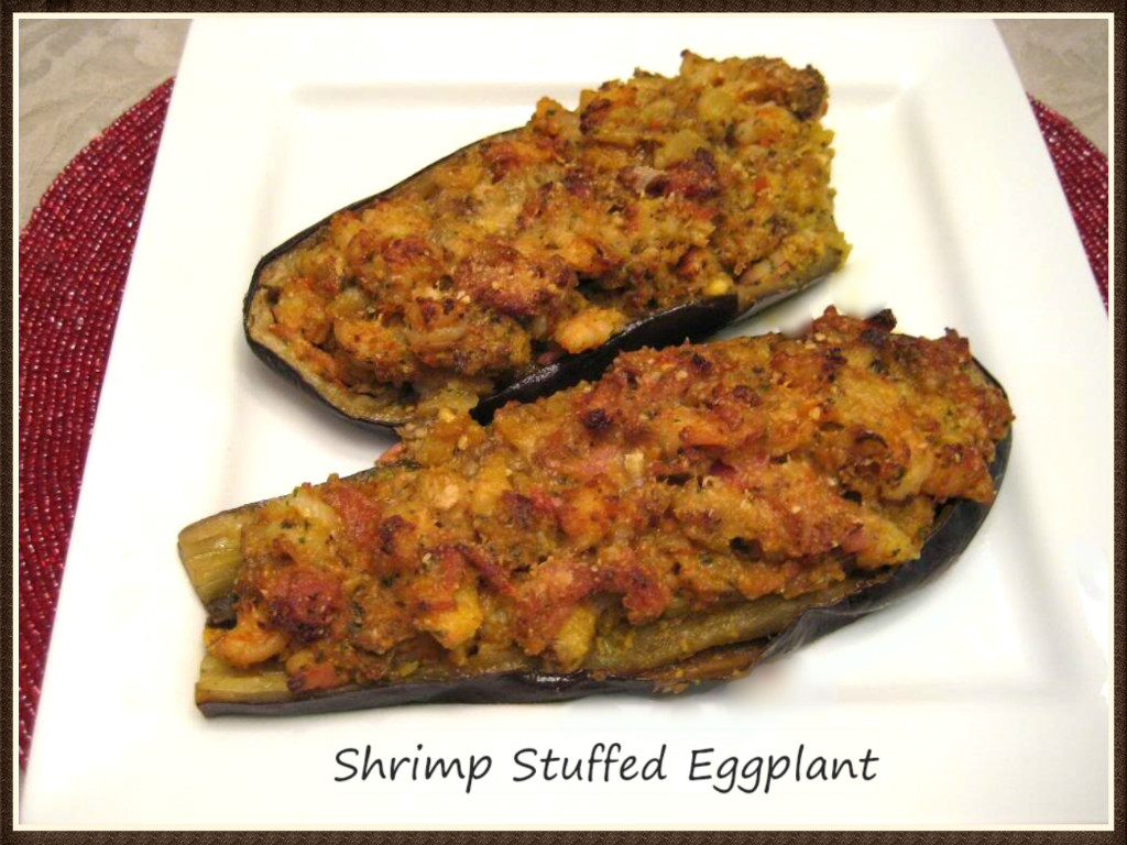 Sigle Casserole Induction Shrimp Stuffed Eggplant Buttoni 39s Low Carb Recipes
