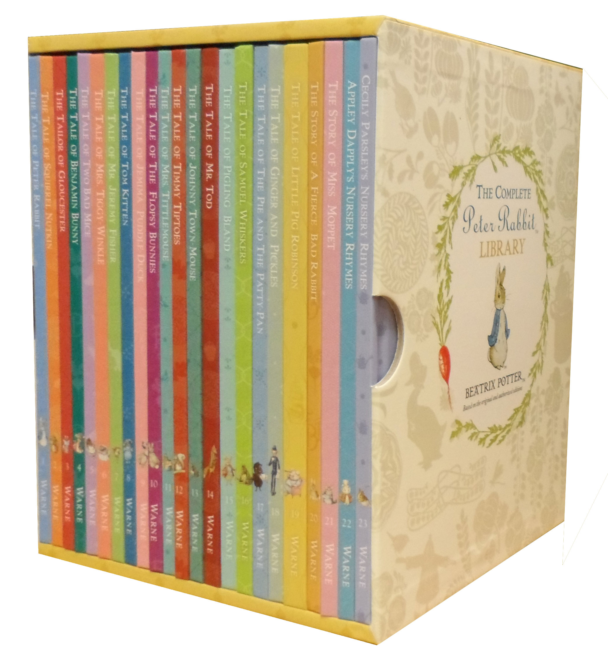 Beatrix Potter Libros World Of Peter Rabbit Collection 23 Books Box Gift Set