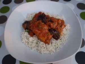 Rabbit and prune stew