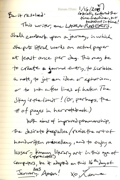 handwritten-resolution