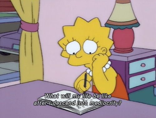 "Shamelessly reappropriated from ""The Lisa Simpson Book Club"""