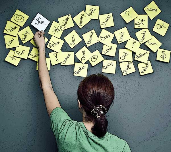 Brainstorming image by Flickr user Crispin Blackall