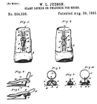 Judson_clasp_locker_patent_1893