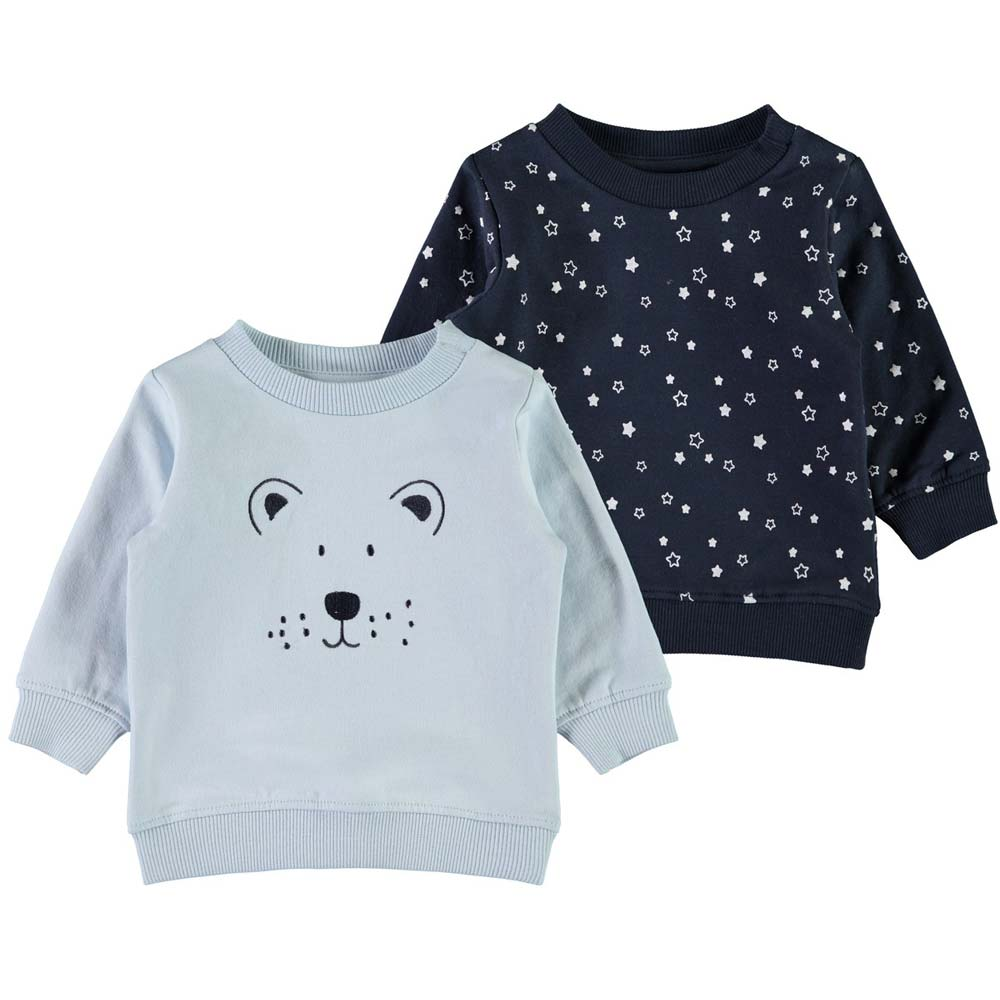 Baby Strumpfhosen Set Name It Baby Jungen Sweatshirt Sene 2er Set