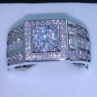 Size 7/8/9/10/111/12/13 Jewelry Luxurious Jewellery Men ...