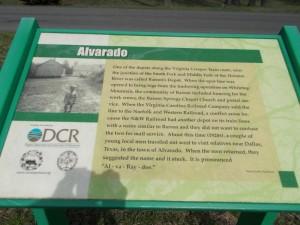 alv sign marker