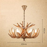 Rustic Antler Lighting | Lighting Ideas